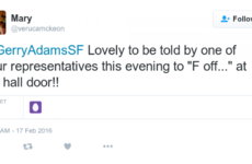 Sinn Féin looking into claim that canvasser told constituent to 'f*** off'