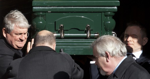 Denis O'Brien Snr's funeral was a veritable who's who of Ireland's rich and powerful