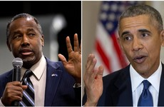 "A Republican presidential candidate has said Obama was ""raised white"""