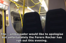 This hilariously honest train announcement is going super viral