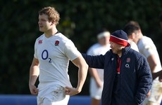 England will be without superb second row Launchbury against Ireland