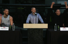 Watch: McGregor and Diaz square off at UFC 196 press conference