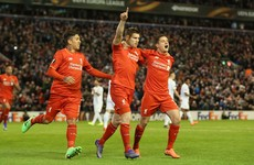 As it happened: Liverpool v Augsburg, Europa League last 32 second leg