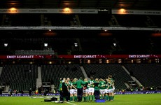 'We're going to Twickenham to play rugby and throw everything at England'