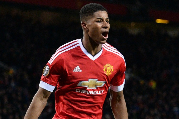 Rashford was thrown in at the deep end but enjoyed a dream debut.
