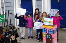 13 families are fighting eviction from emergency accommodation in Dublin today
