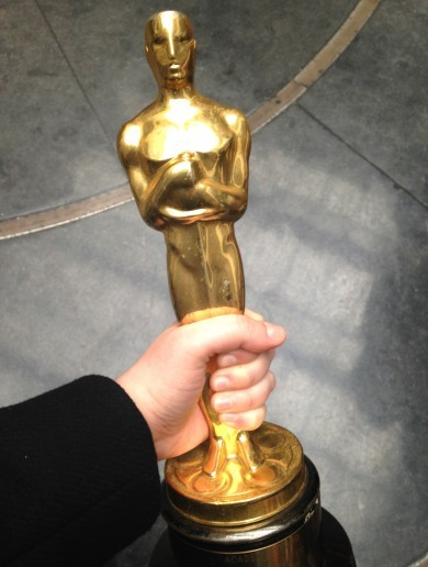 6 things I learned when I got to hold an Oscar today
