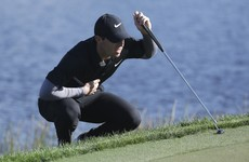 McIlroy misses cut, Lowry falters and birdie run shoots Harrington up leaderboard
