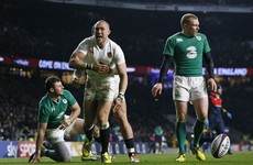 Here's the try that broke Irish hearts at Twickenham today