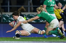 England Women complete a miserable day for Irish rugby