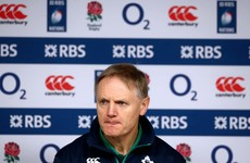 'Don't lose faith' - Joe Schmidt calls for time to rebuild after Twickenham defeat