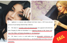 Kylie Minogue just SCALDED Kylie Jenner for trying to trademark the name 'Kylie'