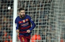 Rare Pique goal and stunning Messi free-kick hands Barca victory over battling Sevilla