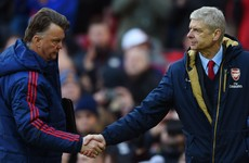 'Bitter loser' Wenger steers clear of Van Gaal's antics