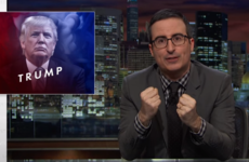 John Oliver tore into Donald Trump last night