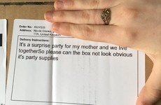 This girl planned to throw a surprise Mother's Day party but the delivery company ruined it