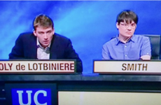 The man with the most University Challenge name ever was back with a bang last night