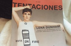 Lena Dunham called out a magazine for Photoshopping her on its front cover