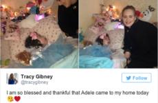 Adele surprised a seriously ill fan in Belfast last night… it's The Dredge