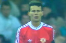 25 years ago, a skinny left-winger made his debut for Manchester United