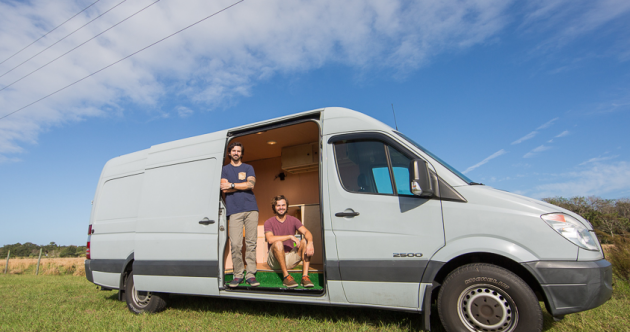 These brothers gave up their jobs to drive around America in a van