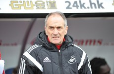 Hospitalised Swansea boss misses Arsenal trip