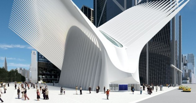 The most expensive train station in the world opens its doors in New York today