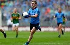 Stint abroad may rule Jack McCaffrey out of Dublin's All-Ireland defence - reports