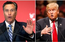 """A phony, a fraud"" - it's panic stations for the Republicans as Mitt Romney takes a major pop at Donald Trump"