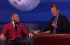 Conan O'Brien made Conor McGregor a €1 coin with his face on it… it's The Dredge