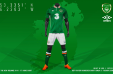 What do you make of Ireland's jersey for Euro 2016?