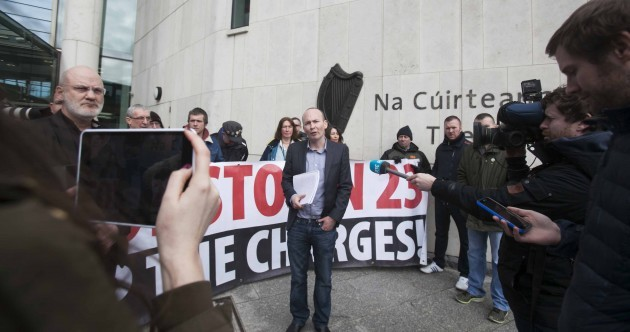 """We think these charges should be dropped"" – Paul Murphy defiant after Jobstown hearing"