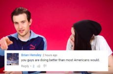 Irish people tried to identify the fifty states, and Americans were so impressed
