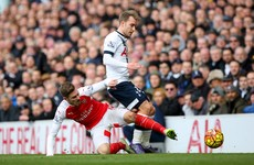 As it happened: Tottenham v Arsenal, Premier League