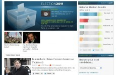 Gallery: National Library launches its archive of General Election 2011 websites