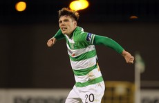 Stunning free kick from last season's Young Player of the Year helps Shamrock Rovers win