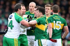 Two red, six yellow and two black cards as Kerry defeat Donegal in bruising Tralee clash