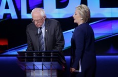 'Your friends destroyed this economy' - Hillary and Bernie clash in fierce debate