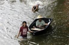 In photos: Bangkok residents flee rising floodwater