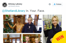 JK Rowling inspired a brilliant Twitter beef between two Scottish libraries