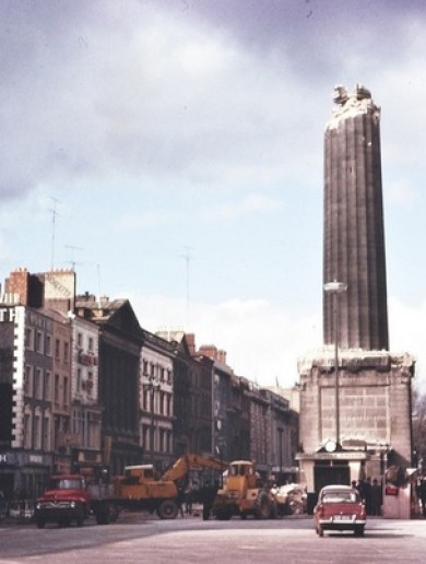 Dispelling the myths about the bombing of Nelson's Pillar