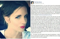 A mam is going viral after she angrily gave out to her 'bully' son on Facebook