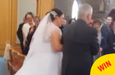 This little Irish boy found a way to completely steal the show at his aunt's wedding