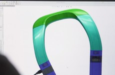 Will this horseshoe-shaped device help the blind navigate indoors?