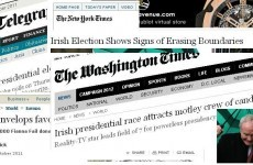 Reality-TV star V ex-IRA warlord: the international view on #Aras11