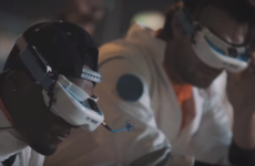 Watching this drone race is a lot like riding a neon-lit rollercoaster