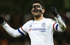Chelsea boss Hiddink defends Costa conduct