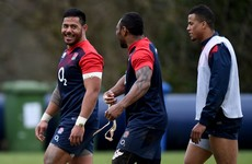 England unchanged for Wales clash - but big Manu Tuilagi is back on the bench
