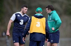 Joe Schmidt: 'We haven't trained with Jared at 15′