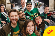 Guinness are giving free pints to anyone called Patrick or Patricia on Paddy's Day